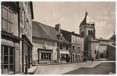 Saint Gervais d'Auvergne aux années 1950-70
