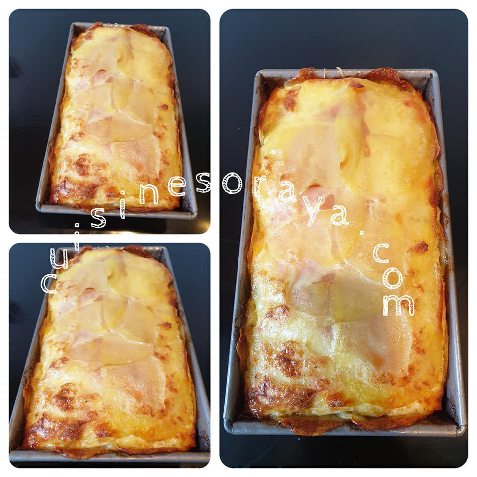 Cake pommes de terre façon raclette
