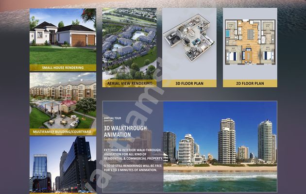 Top 10 Architectural Rendering Studios of USA to Give You the Finest Works – Yantram Architectural Rendering Companies