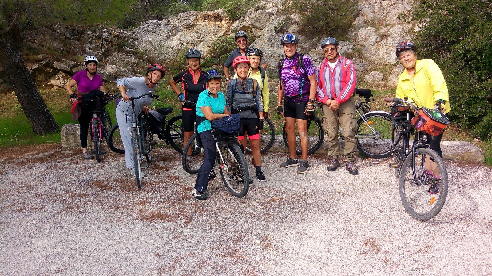 2020-10-09  Randonnée Vélo autour d'Arles.