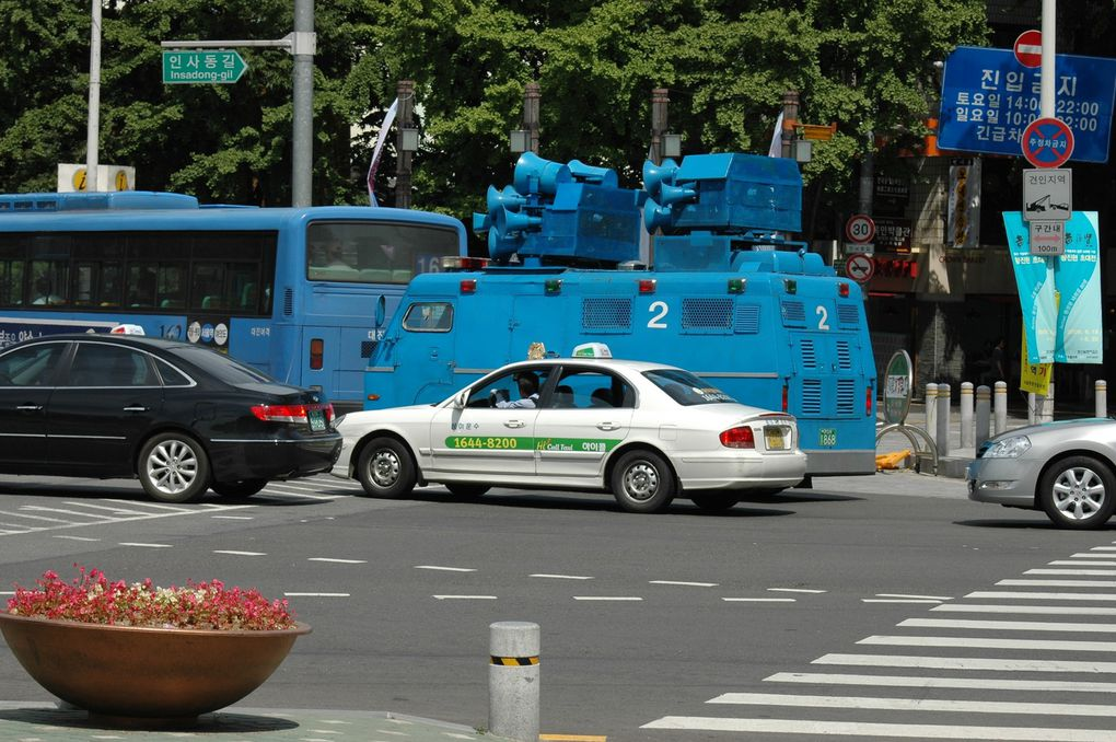 Seoul, juin 2008.