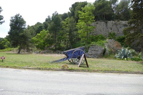 La route bleue de Narbonne plage à Gruissan