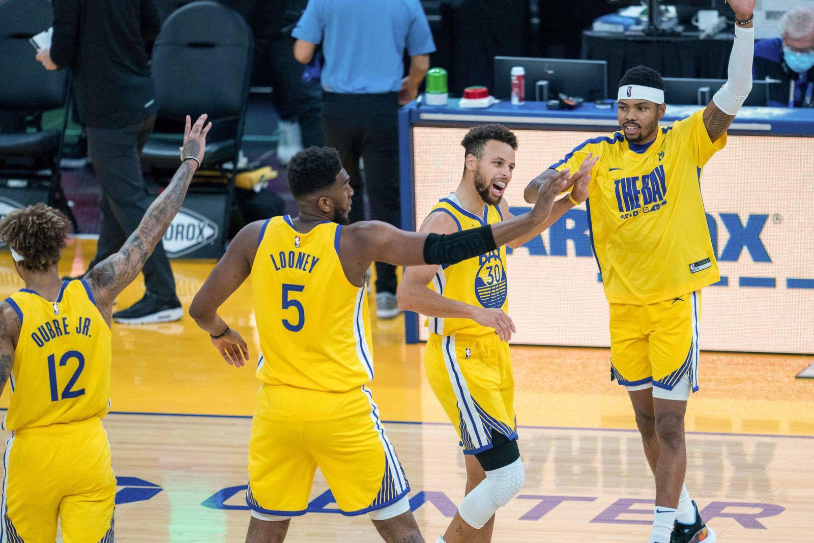 Stephen Curry mène Golden State à une deuxième victoire consécutive