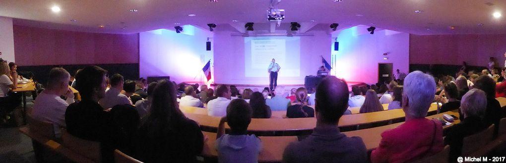 lycée Louis Armand de Chambéry :  la fête de fin d'année pour les 3 classes (seconde, première et terminale) ayant choisi l'option Défense - Sécurité Globale - Citoyenneté.