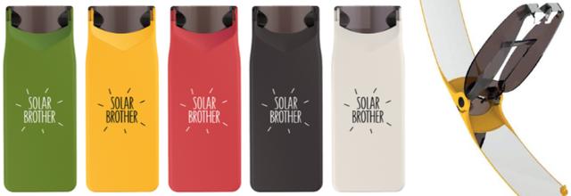 Idée Cadeau: test du briquet solaire Suncase Gear de Solar Brother