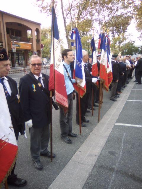 Journée nationale d'Hommage des Harkis, et membres des formations supplétives à Mouans-Sartoux (06)