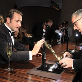 The Artist: Oscar winners at the official Oscars after party Sunday night 2012 - Doc DORFFER Patrick