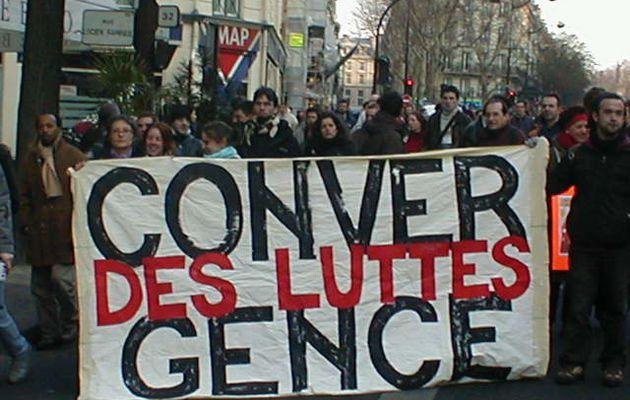 Construisons la convergence des luttes !