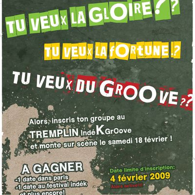 Tremplin Groove 1DK