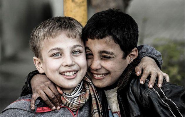 Gardons le sourire, malgré la tristesse...