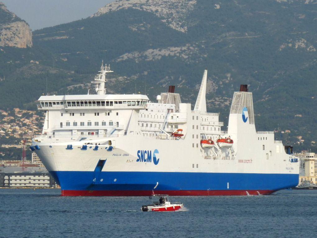 PAGLIA  ORBA , appareillant de Toulon le 23 novenbre 2014