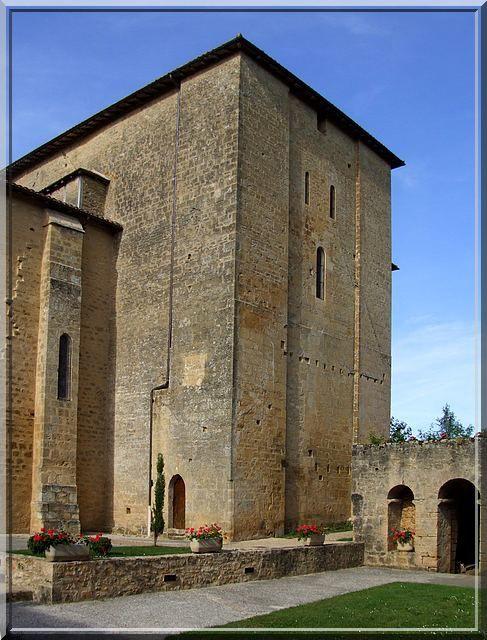 Diaporama église fortifiée de Trémolat