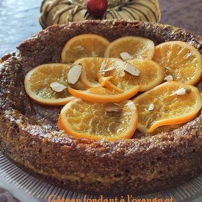 Gâteau fondant à l'orange et à la polenta