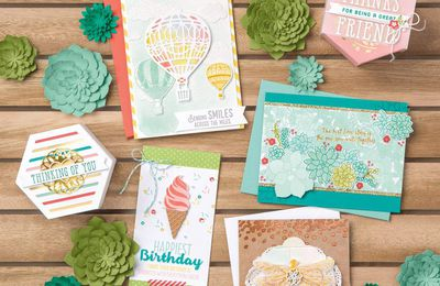 Stampin Up Nouveau Catalogue Printemps /été 2017  SALE A BRATION