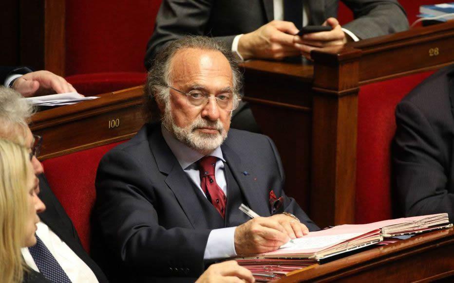 Olivier Dassault en 2019 à l'Assemblée nationale. LP/Olivier Lejeune