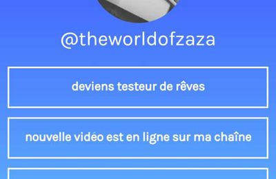 Une application pour instagram