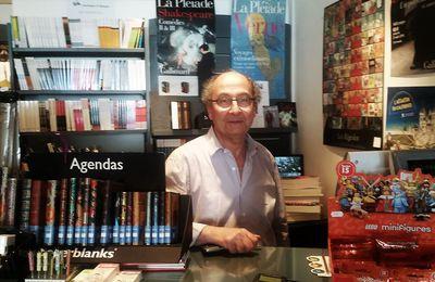 ACTUALITÉ: Les livres et les librairies ou la raison d'être d'un homme passionné