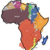 L'Afrique est bien plus grande que ce que vous croyez - MOINS de BIENS PLUS de LIENS