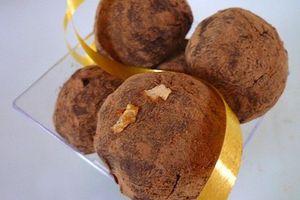 Truffes de Noël aux 2 Chocolats