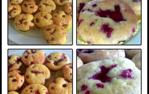 Muffins uktra moelleux aux framboises au thermomix ou sans