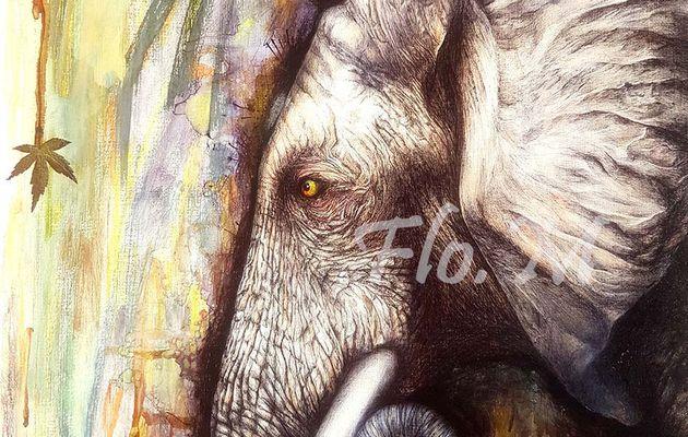 Un éléphant est arrivé dans ma mémoire