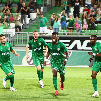 EFBET LIGA (J4) : Mavis Tchibota marque le but qui scelle la victoire du Ludogorets