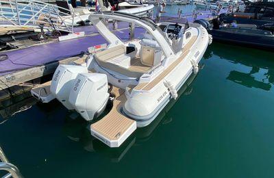 Salpa semi-rigide au Yachting Festival de Cannes du mardi 7 au samedi 11 septembre 2021