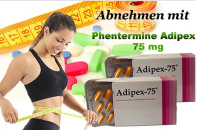 Adipex Retard und Adipex-P Dosierung in Online-Apotheke