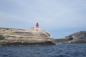 Les roches blanches de Bonifacio