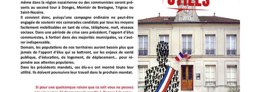 Les Nouvelles de Loire-Atlantique du 29 mai 2020