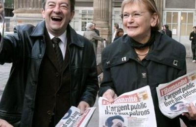 Mélenchon à la troisième place, devant Le Pen et Bayrou