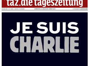 Trous de balles tragiques à Charlie Hebdo