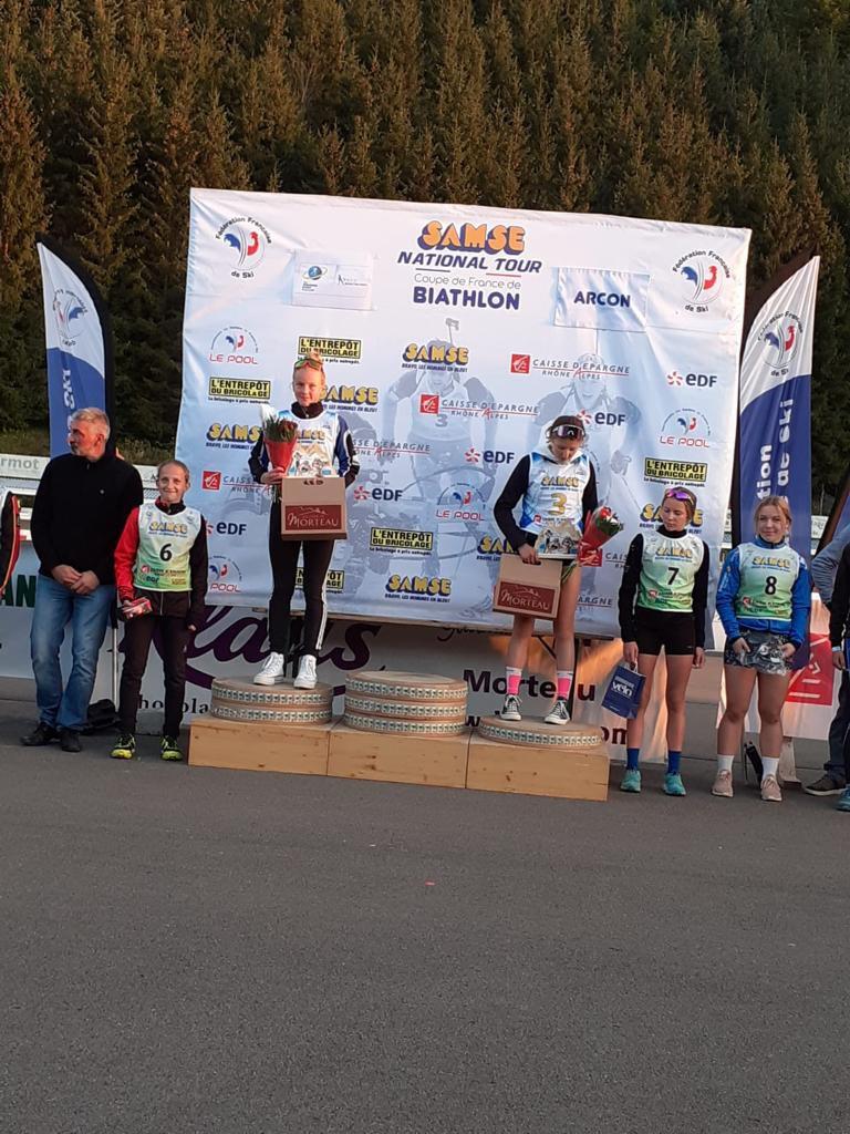 Biathlon Summer Tour Octobre 2021 à Arçon