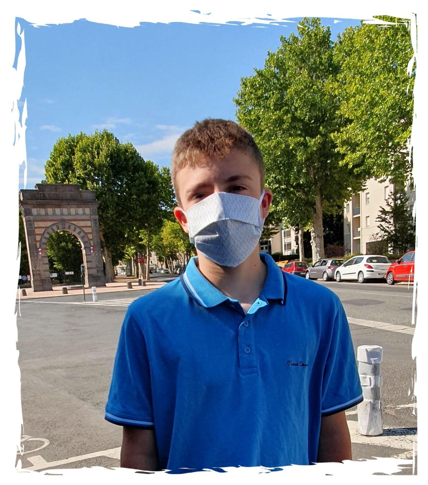 Les masques stylés pour les ados : Atelier F & B