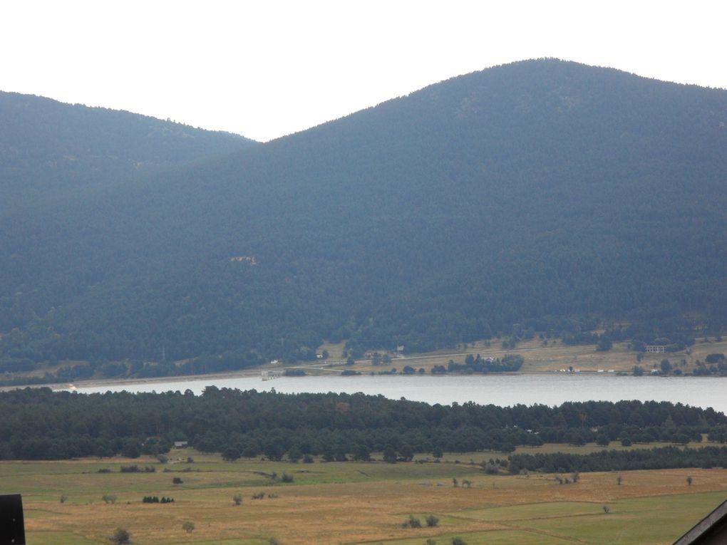 Les Angles et le lac de Matemale - 66