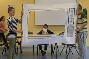 Les élèves de 6e en représentation au collège Saint-Exupéry