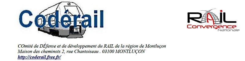 Le CODERAIL lance une pétition pour la défense du service public ferroviaire à Montluçon