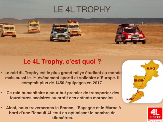 #Ouistreham : La Ville soutient un équipage du 4L Trophy, raid étudiant dans le désert !