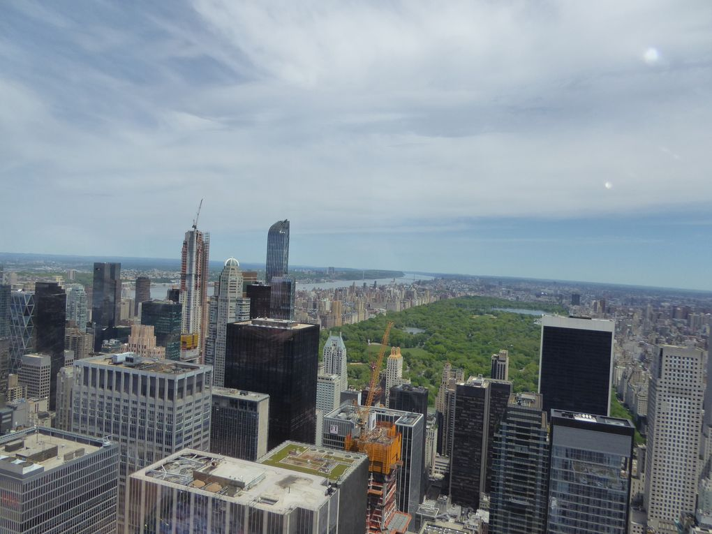 New York City, Top of the Rock - Mai 2017.
