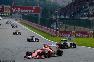 Shell préfère Ferrari à la publicité sur le bord de piste