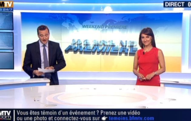 2013 09 01 - 08H29 - SANDRA GANDOUIN - BFM TV - WEEK-END PREMIERE