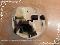 Bûche chocolat & cassis