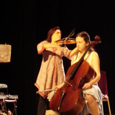 Les suites de Bach ... on aime! quand elles sont présentées par Karine