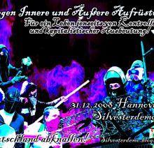Silvesterdemo in Hannover