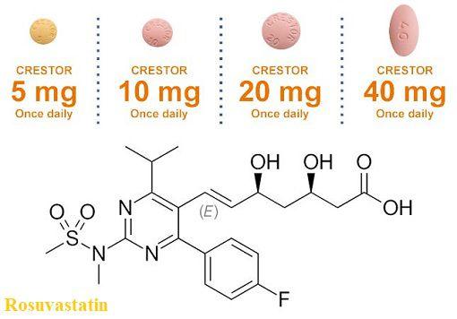 Tính chất dược lý và Cách thức hoạt động của Rosuvastatin