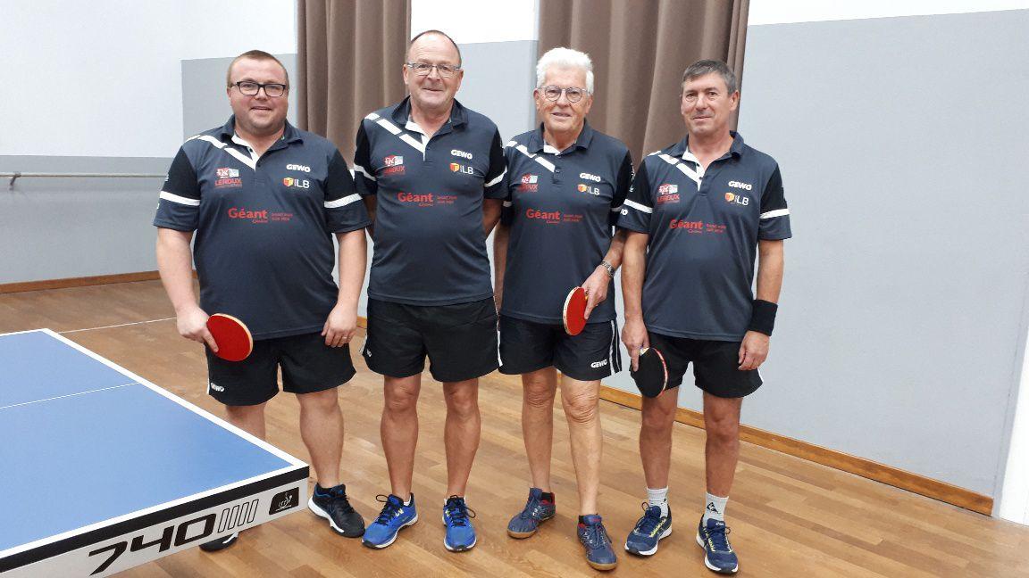 Equipe 6 Sebastien Pellegrin, Jacques Canuet,  Serge Levallois et Jacky Boin