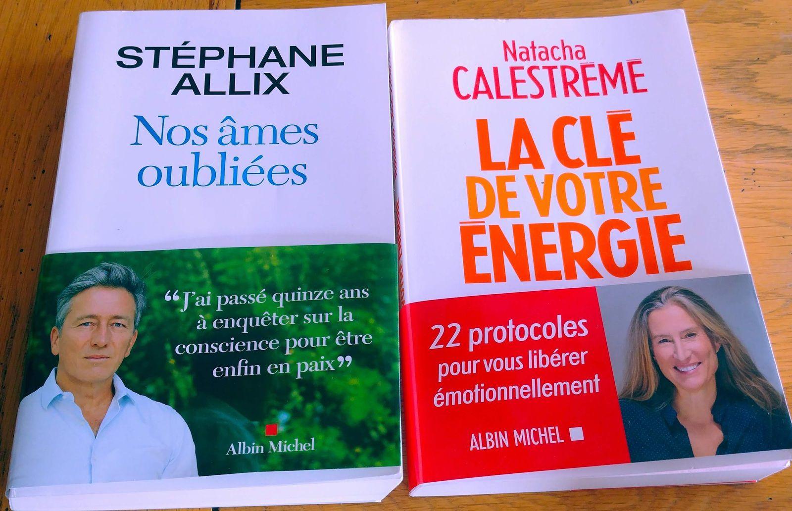Mes livres de l'été 2021, que je ne peux que vous conseiller pour une rentrée spirituelle !