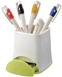 Ricochet imprime vos objets publicitaires ecologiques : stylo, carnet, calculatrice ...