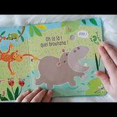 Ne chatouille pas l'hippopotame des éditions usbornes