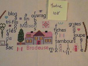 """SAL """"TAMBOUR DE BRODEUSE"""" - Photos de l'objectif 5 - 2ème partie"""